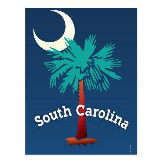 South Carolina Palmetto Postcard