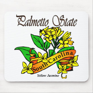 South Carolina Palmetto State Flower Mouse Pad