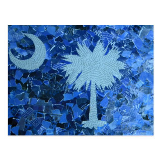 South Carolina Palmetto Tree Postcard