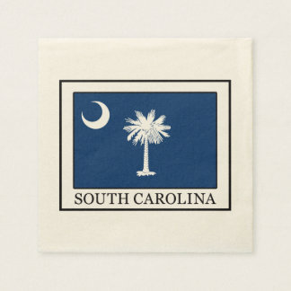 South Carolina Paper Napkin