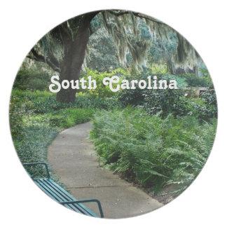 South Carolina Park Party Plate