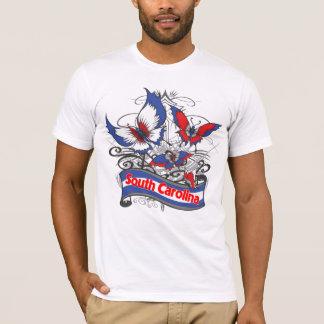 South Carolina Patriotism Butterfly T-Shirt