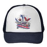 South Carolina Patriotism Butterfly Trucker Hat