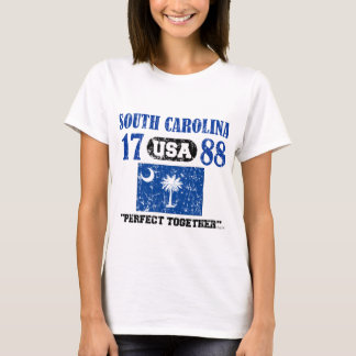 SOUTH CAROLINA PERFECT TOGETHER DISTRESSED PRODUCT T-Shirt