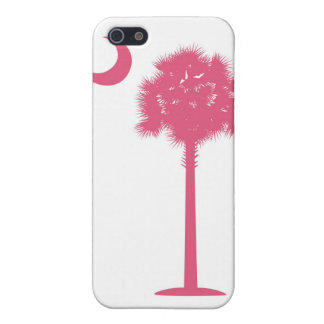 South Carolina Pink Palmetto Cases For iPhone 5