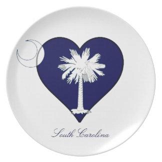 South Carolina Dinner Plates