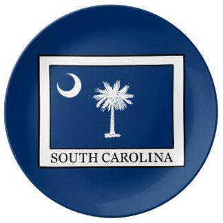 South Carolina Porcelain Plate