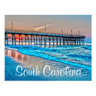 south carolina postcards