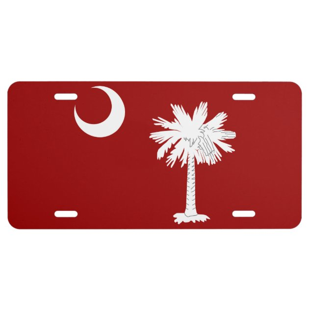 "South Carolina Myrtle Beach Palmetto State 6/""x12/"" Aluminum License Plate Sign"