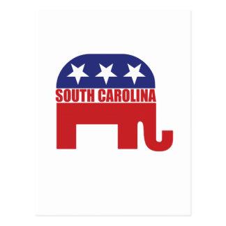 South Carolina Republican Elephant Postcard