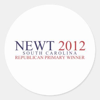 South Carolina Republican Primary Classic Round Sticker