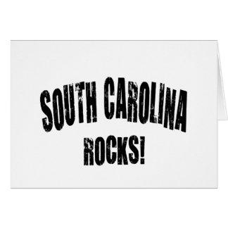 South Carolina Rocks! Greeting Card
