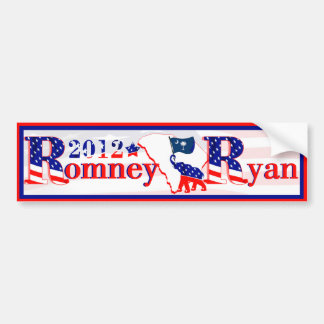 South Carolina Romney Ryan 2012 Bumper Sticker Car Bumper Sticker