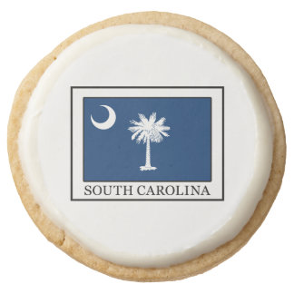 South Carolina Round Shortbread Cookie