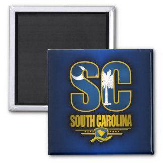 South Carolina (SC) Magnet