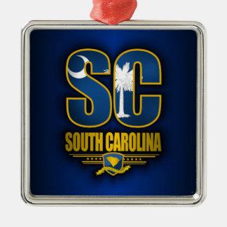 South Carolina SC Christmas Ornament