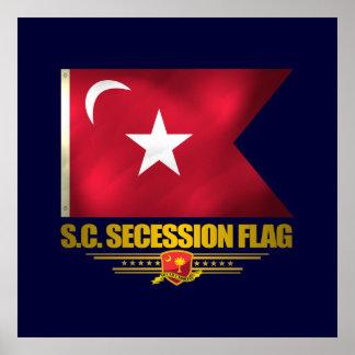 South Carolina Secession Flag Poster