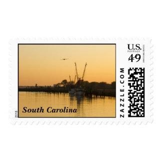 South Carolina, Shem Creek Postage