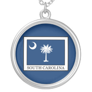 South Carolina Silver Plated Necklace