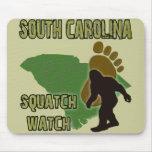 South Carolina Squatch Watch Mouse Pad