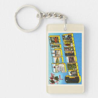 South Carolina State #2 SC Old Vintage Postcard- Keychain