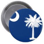 South Carolina State Flag Buttons