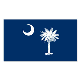 South Carolina State Flag Design Double-Sided Standard Business Cards (Pack Of 100)