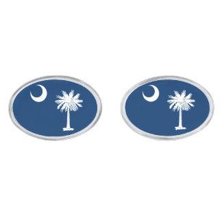 South Carolina State Flag Design Cufflinks