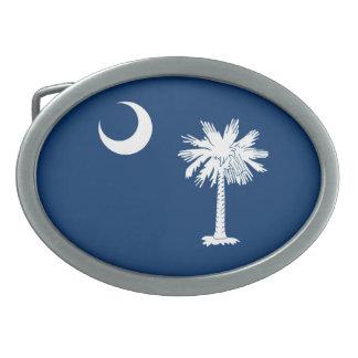 South Carolina State Flag Design Decor Belt Buckle