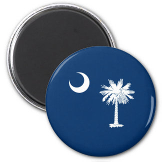 South Carolina State Flag Design Decor Magnet