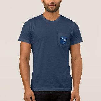 South Carolina State Flag Design Decor T-Shirt