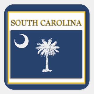 South Carolina State Flag Design Sticker