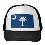 South Carolina State Flag Hats