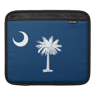 South Carolina State Flag iPad Sleeve