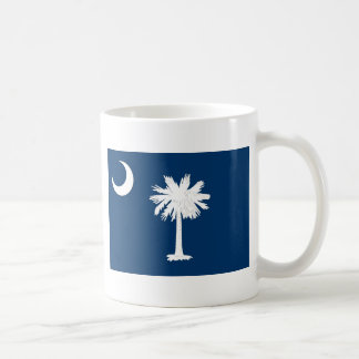 South Carolina State Flag Classic White Coffee Mug