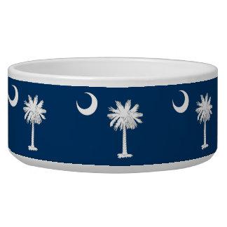 South Carolina State Flag Pet Bowl