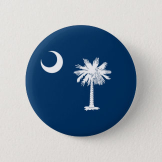 South Carolina State Flag Pinback Button