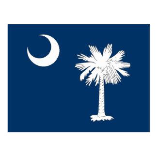 South Carolina State Flag Postcard