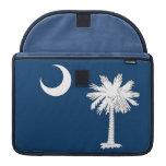 South Carolina State Flag Rickshaw Flap Sleeve Sleeves For MacBook Pro