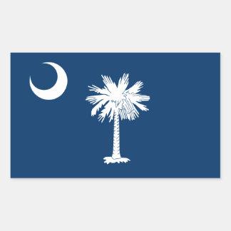 South Carolina State Flag, United States Rectangle Sticker