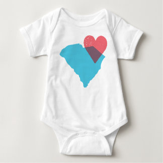 South Carolina State Love Baby Shirt