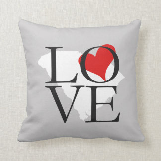 South Carolina State Love Pillow