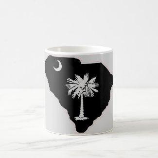 South Carolina 'State & Palmetto Tree' Coffee Mug