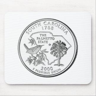 South Carolina State Quarter Mouse Pad