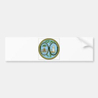South Carolina State Seal Bumper Sticker
