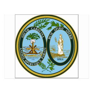 South Carolina State Seal Post Cards