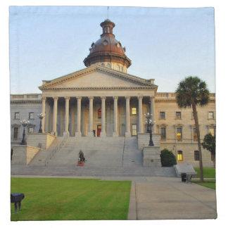 South Carolina Statehouse Napkin