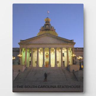 South Carolina Statehouse Plaque