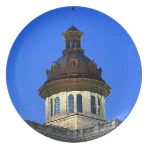 South Carolina Statehouse Plate
