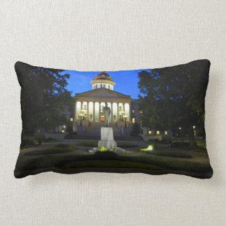 South Carolina Statehouse Throw Pillow